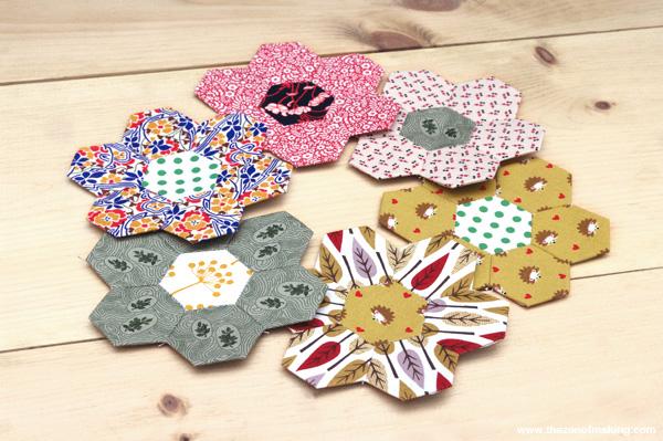 TutoriaTutorial: English Paper Piecing, Hexies Part 2 | Red-Handled Scissorsl: English Paper Piecing, Hexies Part 2 | Red-Handled Scissors