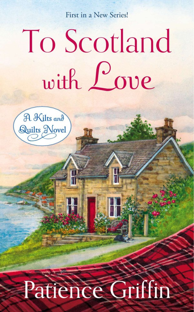 Crafty Audiobook Review: To Scotland with Love: Kilts and Quilts, Book 1