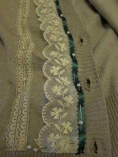 Tutorial: Custom Cardigan Sweater | Red-Handled Scissors