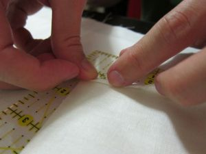 Tutorial: HandStiched Pocket Square | RedHandled Scissors