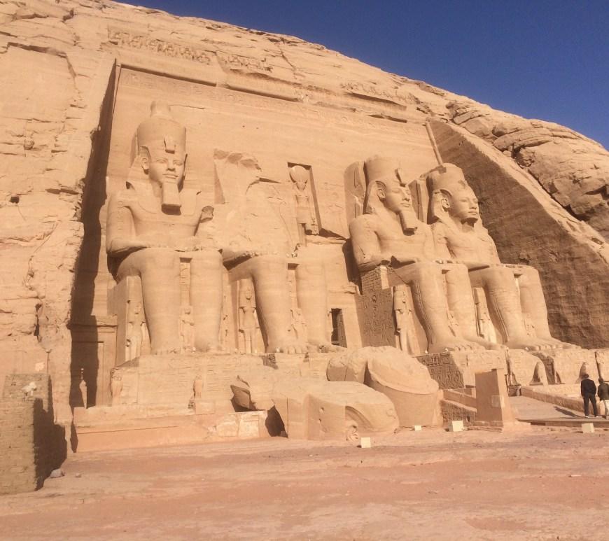 abu simble temple in egypt