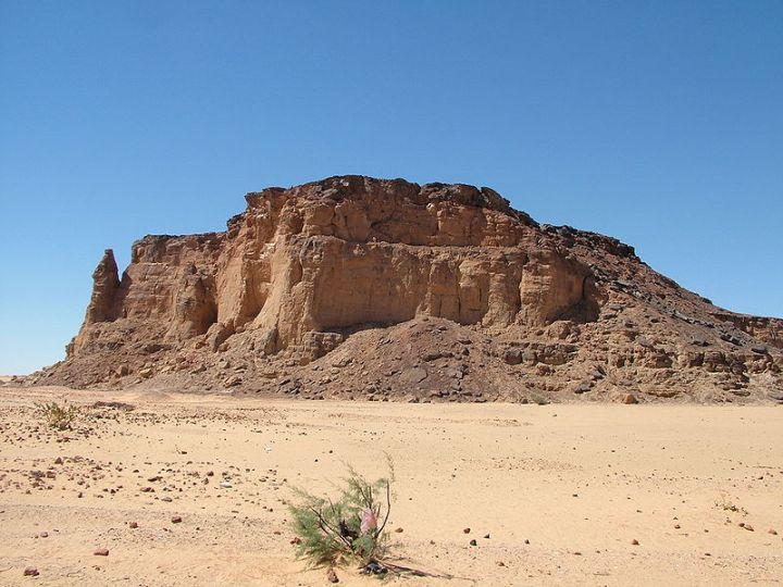 jabal barkal in northern sudan