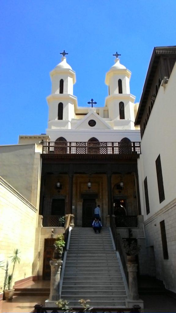 gereja gantung di old cairo