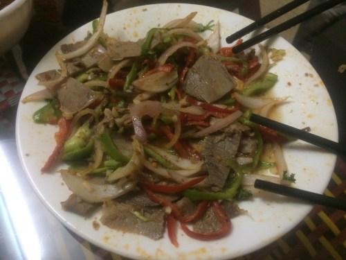 daging sapi di restoran china ebed khatim
