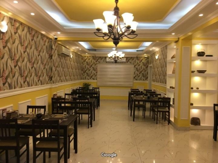 ruang di dalam restoran bangkok