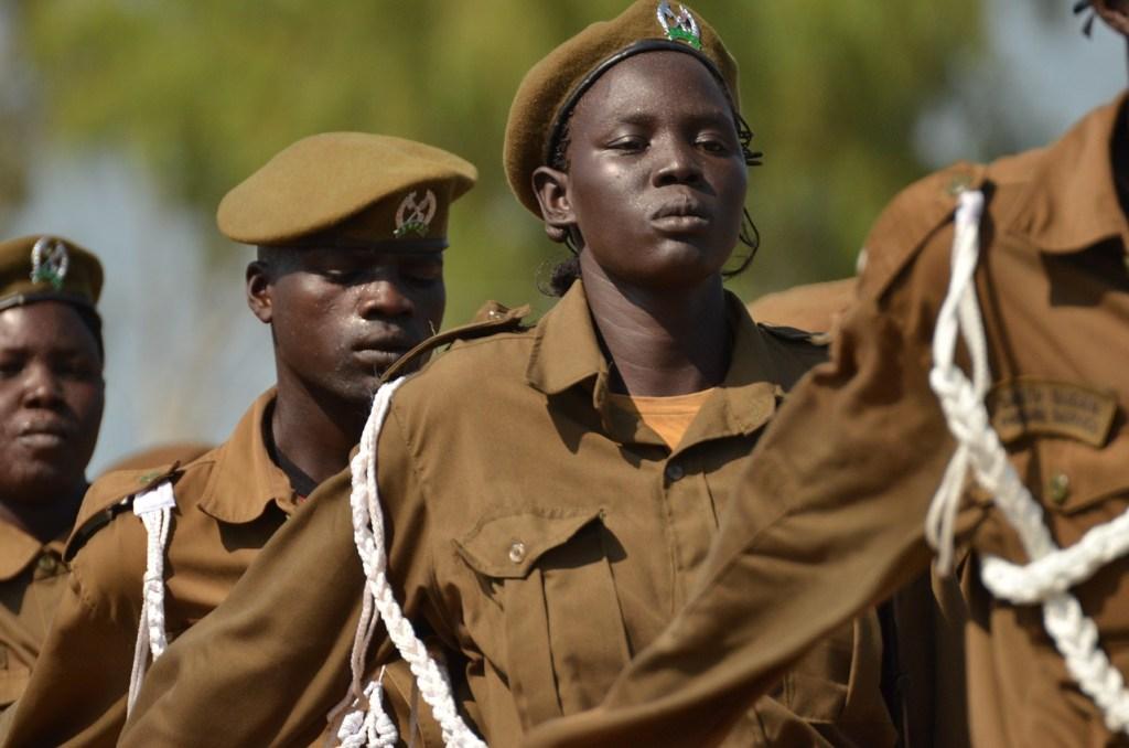 Ilustrasi tentara South Sudan