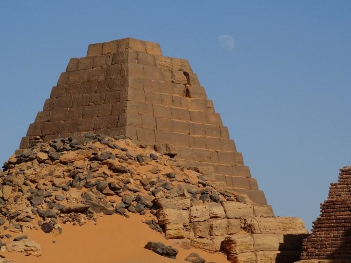 Piramida Meroe di Sudan