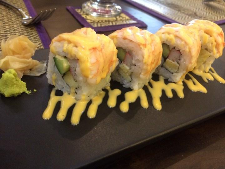 Sushi di Restoran Bangkok
