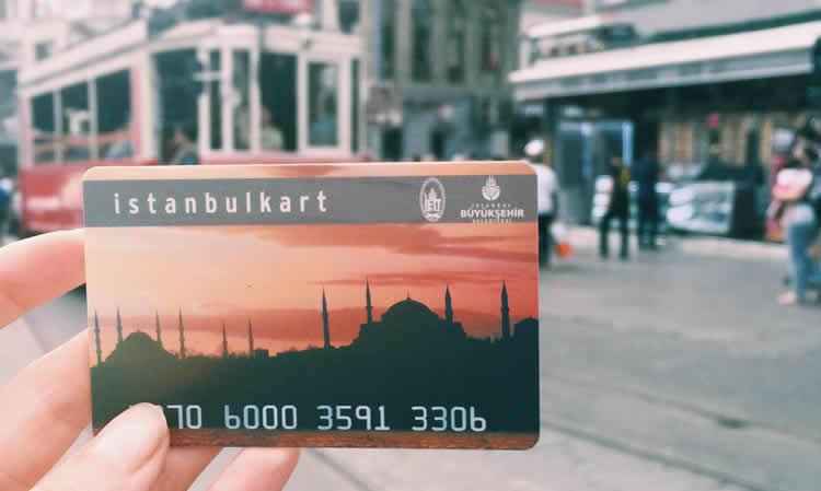Istanbulkart kartu pintar untuk menjelajahi Istanbul