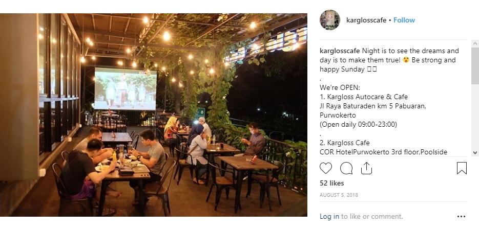 Kargloss Cafe Purwokerto