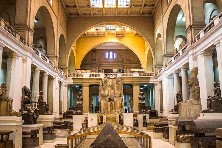 ruang utama egyptian museum