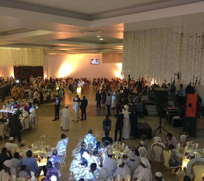 Pernikahan di Gedung Sewa Yang Mewah di Sudan