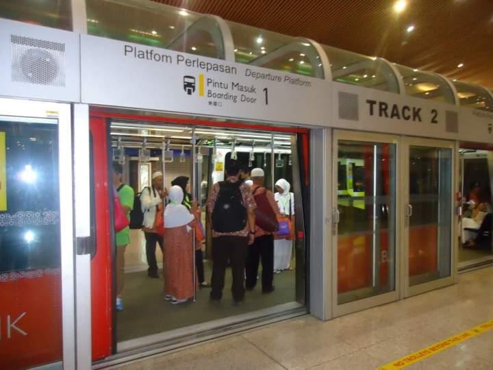 Kereta Bandara Kuala Lumpur Malaysia