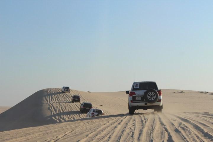 Safari gurun di Doha