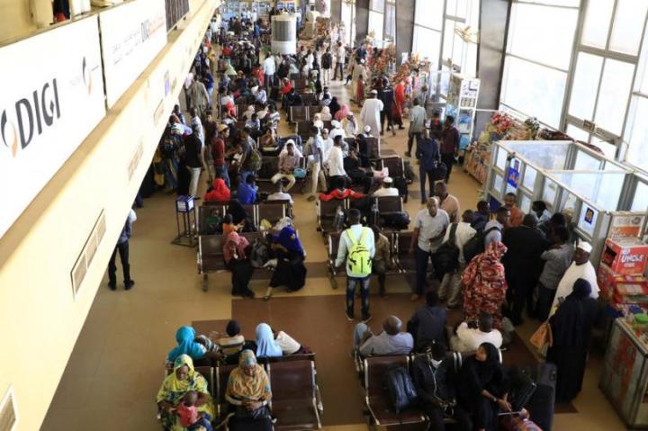 Ilustrasi pemulangan warga negara Sudan dari luar negeri