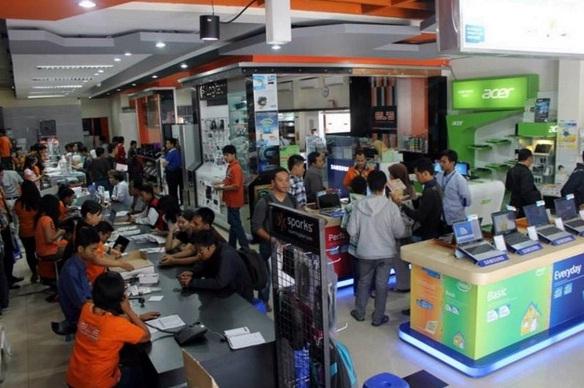 ELS Computer, Alnect, Computa, Jogjatronik, dan sebagainya adalah pusat penjualan laptop di Jogja