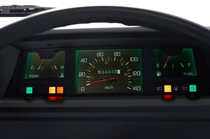 Kondisi interior - Speedometer