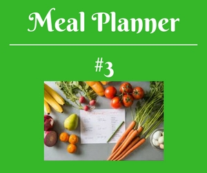 Meal Planner 3 Canva