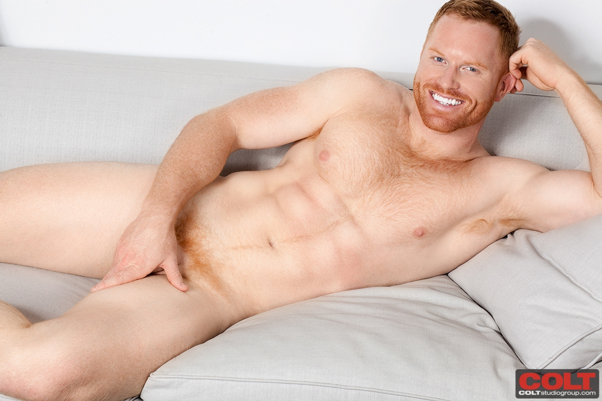 Redhead male nude