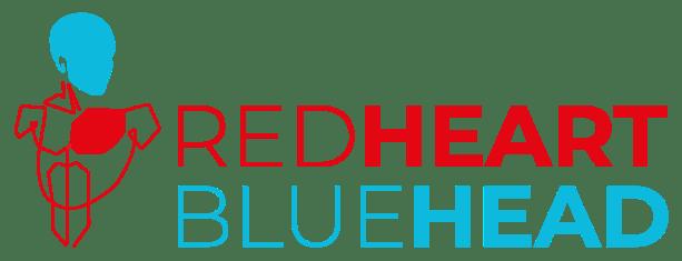 Red Heart Blue Head logo
