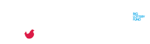 Image of The Red Hen Project logo alongside the National Lottery Big Lottery Fund logo