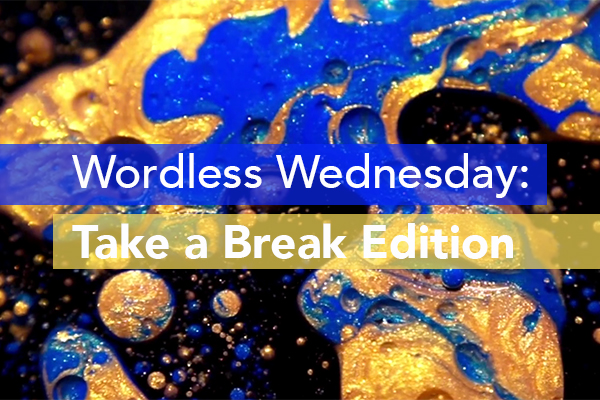 Wordless Wednesday: Take a Break Edition