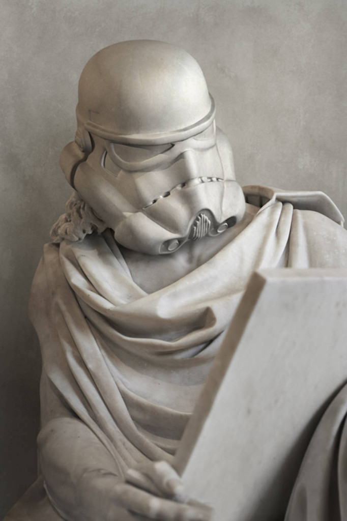 Travis Durden Star Wars Reimagined Greek Statues