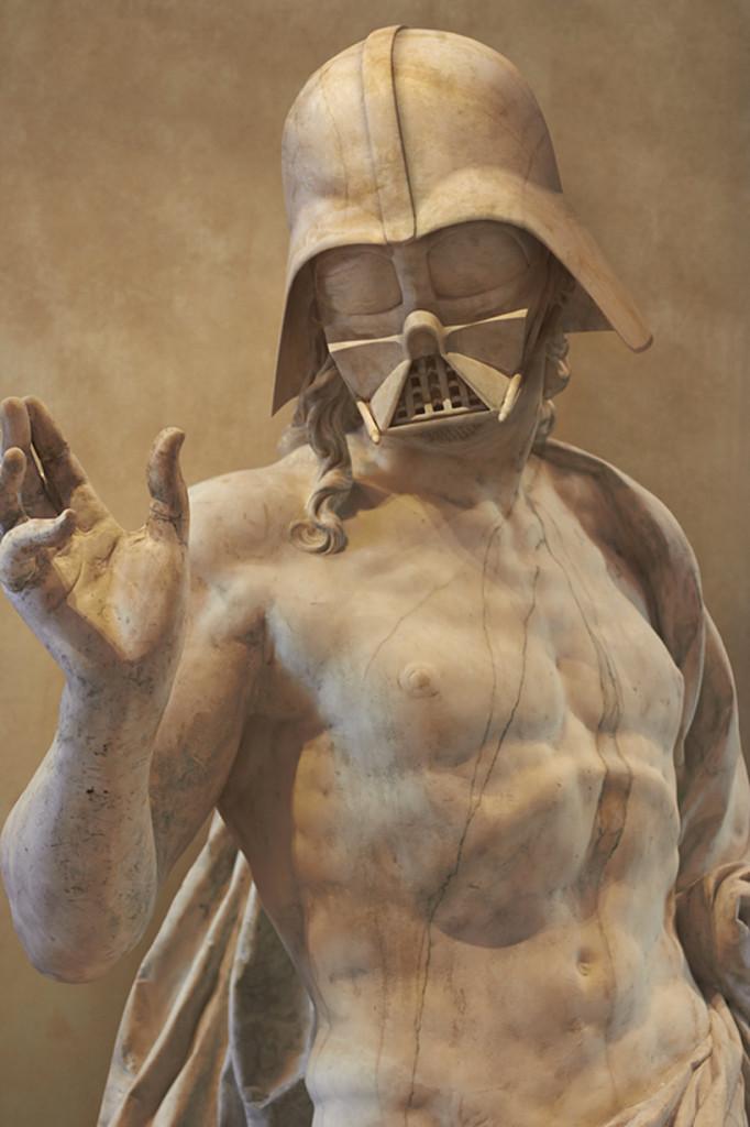 Travis Durden Star Wars Reimagined Greek Statues