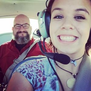 Flying with Dan