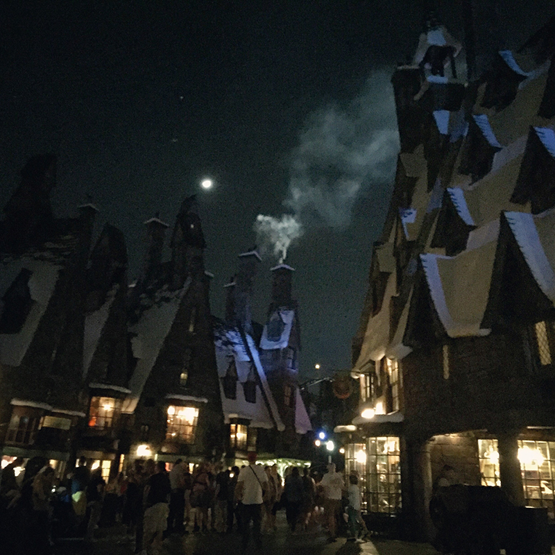 Reading in the New Year at Hogsmeade