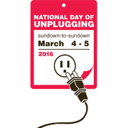 National Day of Unplugging 2016