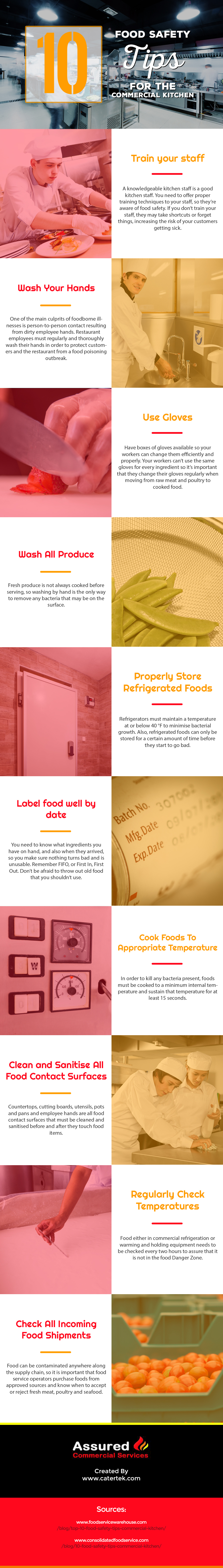 10 Food Safety Tips for the Commercial Kitchen - Red