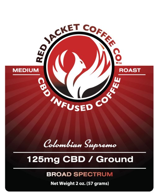 Colombian Supremo CBD Coffee