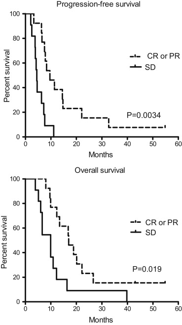 Patterns of Failure After Concurrent Bevacizumab and