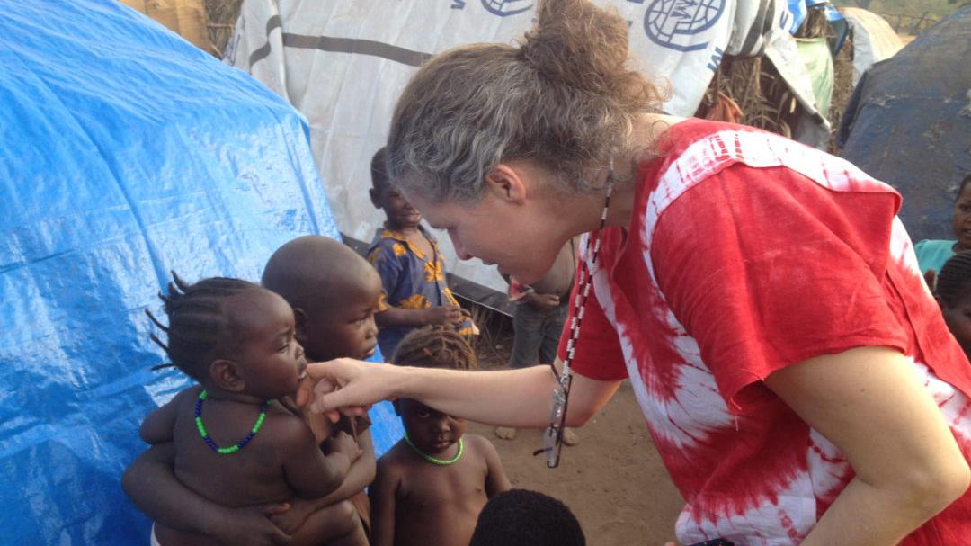 Yudith Pereira y Sudán del Sur
