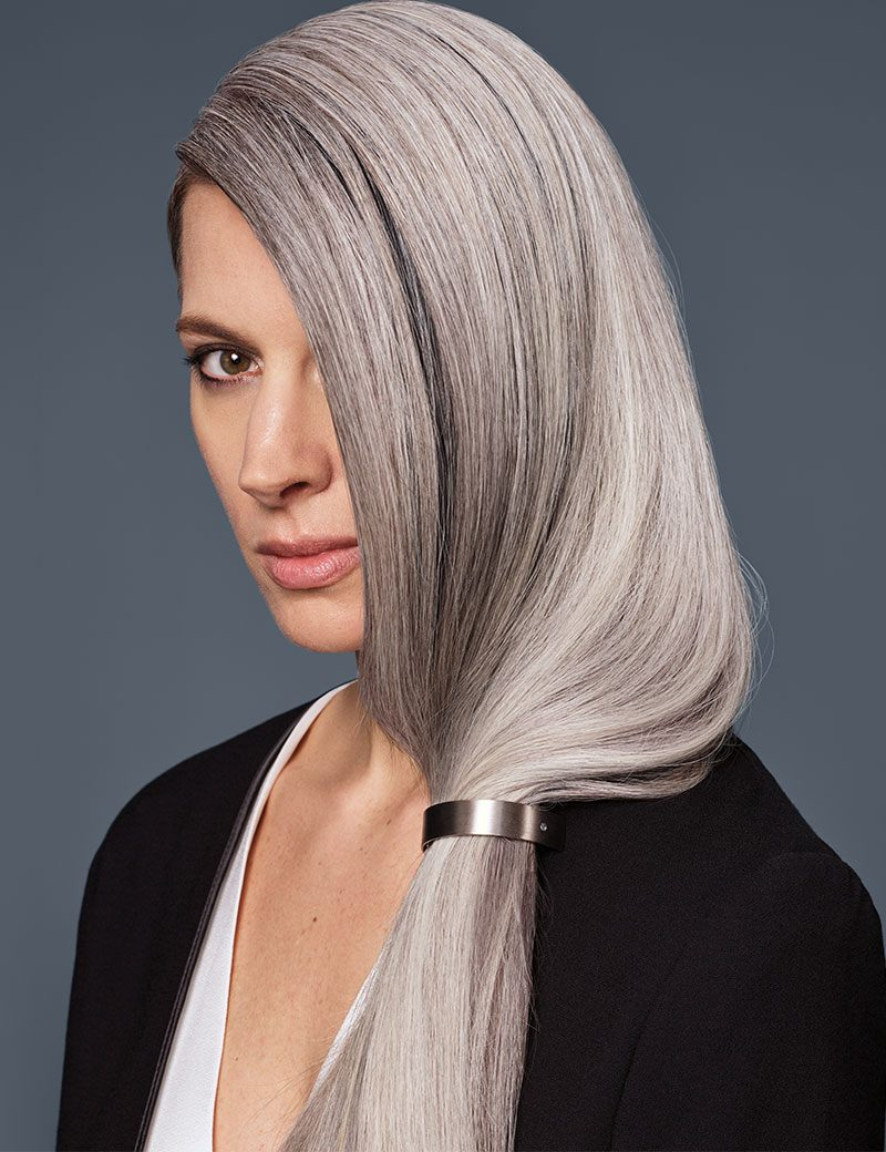 explore silver haircolor trends