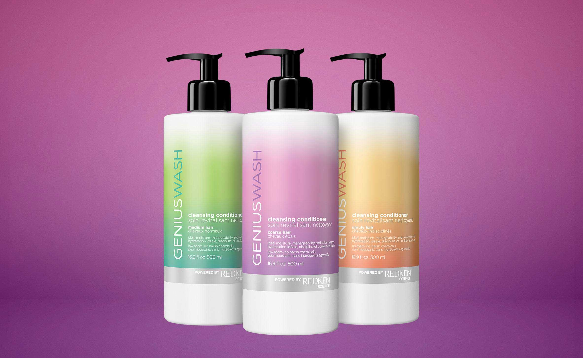 Redken Genius Wash Cleansing Conditioners Hair Products