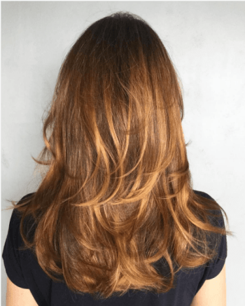 ombre balayage which popular