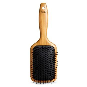 Brushing think hair is easier than you think with a paddle brush.