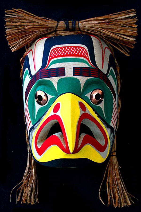 Eagle Mask By Pat Amos Inuit Amp Native Art Of Canada