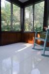 sunroom floor