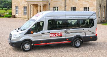 Red Kite Ford Transit minibus