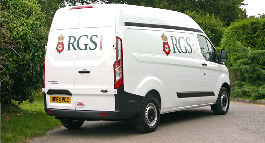 Red Kite RGS crewtility Vehicle