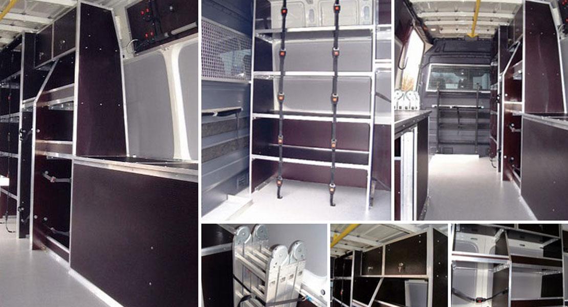 Red Kite Crewtility Vehicle Interior