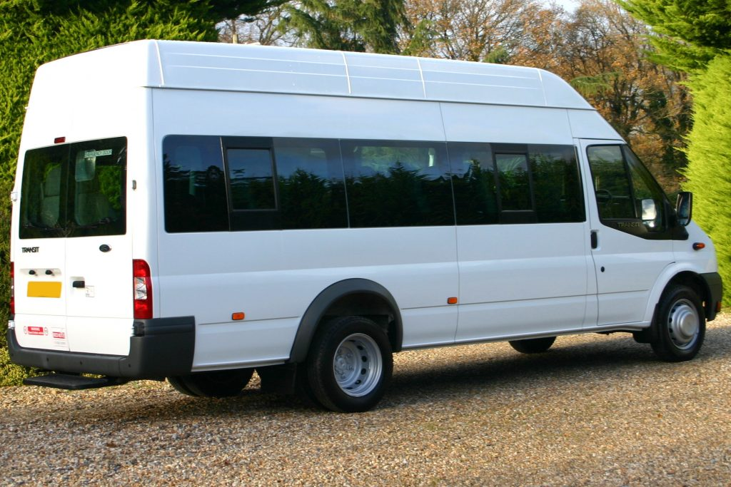 ford transit accessible minibus f6530 | red kite vehicle consultants