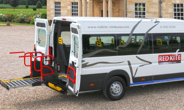 Red Kite Accessible Peugeot Boxer minibus