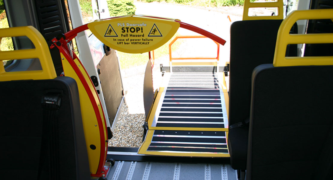 Red kite Accessible lift