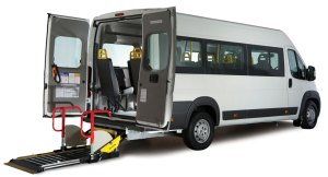 Red Kite Peugeot Accessible Taillift