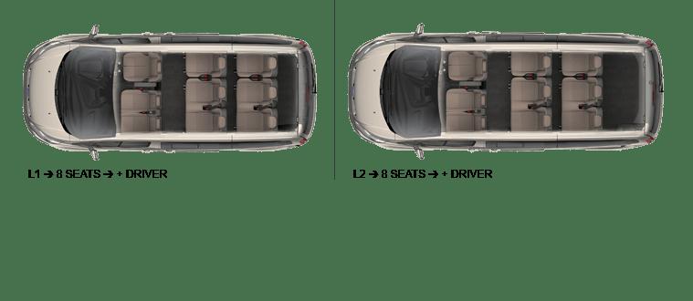 Red Kite Ford Toureno Seating Plan