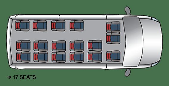 Red Kite Vauxhall Movano Seating
